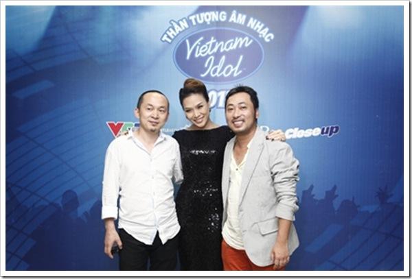 giam khao Vietnam idol 2012 than tuong am nhac