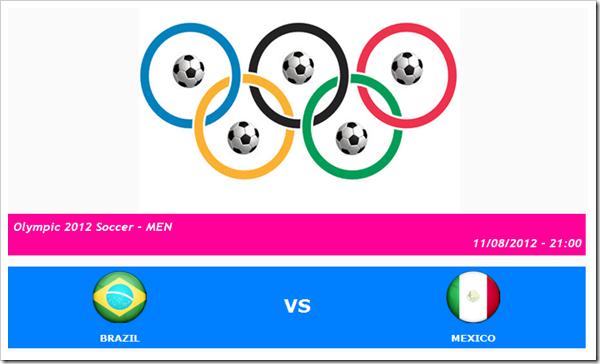 braxin vs mexico ty so tran braxin mexico ket qua tran mexico braxin chung ket olympic 2012 chung ket bong da nam olympic 2012 [Olympic 2012 - Men  CHUNG KẾT - BRAZIL vs MEXICO   11 08 2012 - 21 00-231746