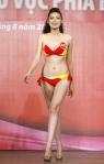 Chung kết Hoa hậu Việt Nam 2012 - Dương Tú Anh, SBD 828, Cao 1,72m, Số đo ba vòng 87-63-91
