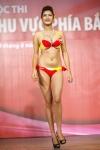 Chung kết Hoa hậu Việt Nam 2012 - Lê Thị Kim Oanh, SBD 649. Cao 1,77m. Số đo ba vòng 93-69-93