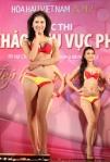 Chung kết Hoa hậu Việt Nam 2012 - Nguyễn Lê Thục Châu, SBD 022. Cao 1,69m. Số đo ba vòng 84-63-91.