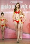 Chung kết Hoa hậu Việt Nam 2012 - Nguyễn Thanh Thảo, SBD 189. Cao 1,73m. Số đo ba vòng 77-61-89