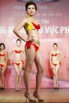 Chung kết Hoa hậu Việt Nam 2012 - Nguyễn Thị Huyền Trang, SBD 954. Cao 1,67m. Số đo ba vòng 85-62-88