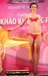 Chung kết Hoa hậu Việt Nam 2012 - Trần Bảo Vy, SBD 808. Cao 1,78m. Số đo ba vòng 85-62-90.
