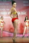 Chung kết Hoa hậu Việt Nam 2012 - Vũ Ngọc Anh, SBD 396. Cao 1,69m. Số đo ba vòng 77-61-87.