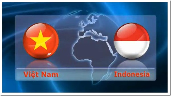 Vietnam vs Indonesia - Giao huu bong da Vietnam Indo 2012