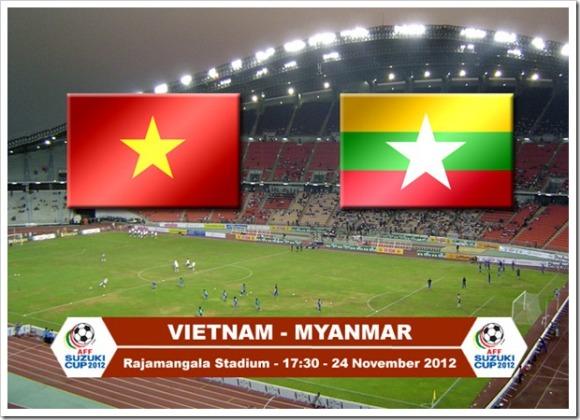AFF_Suzuki_Cup_2012_Vietnam_vs_Myanmar_ngay 24.11.2012_ty so va ket qua