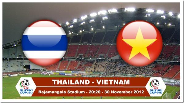 AFF Cup 2012 -  Việt Nam vs Thái Lan _ngày 30.11.2012