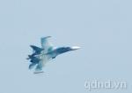Máy bay SU-30 tham gia diễn tập...