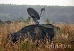 Xe thông tin vệ tinh Vsat – VCD2 đảm bảo thông tin cho cuộc diễn tập
