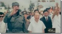 Chủ tịch Fidel Castro thăm Việt Nam 1973 video clip