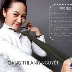 Hoàng Thị Ánh Nguyệt - MS 03
