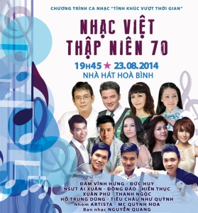 Tình khúc vượt thời gian tháng 8/2014 – Full video Nhạc Việt thập niên 70